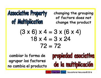 Associative of multiplication/Asociativa de mult prim 1-way blue/rojo