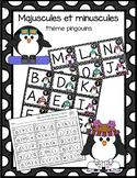 Majuscule et minuscule - pingouins