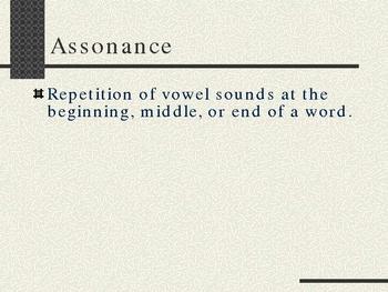 Assonance/Consonance Mini-Lesson