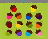 Acorns clipart commercial use