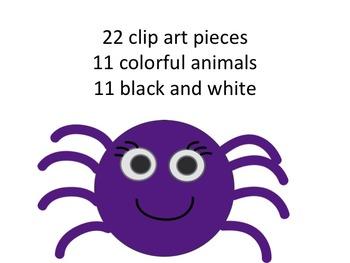 Assorted Animal Clip Art