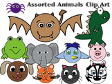 Assorted Animal Clip Art