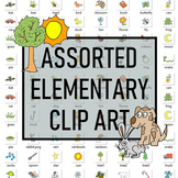 Assorted Elementary Clipart Package (52 images)