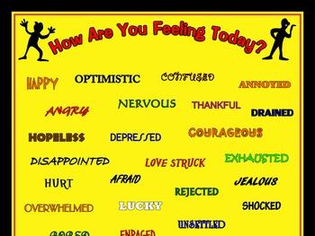 Assorted Feelings Poster: Vibrant