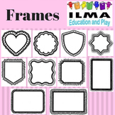 Assorted Frames for name tags, gift tags, cards, worksheet