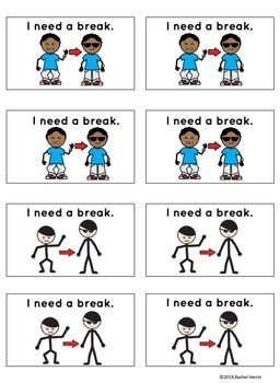 "Assorted ""I need a break"" Cards"