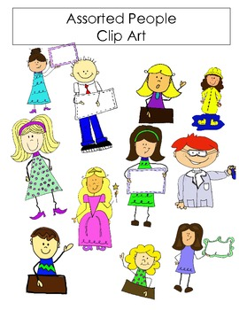 Assorted People Clipart