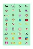 Assorted Planner Stickers for Avery Labels #5418