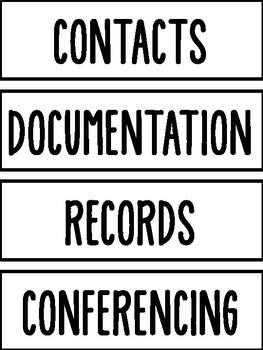 Assorted Sterilite Drawer Labels