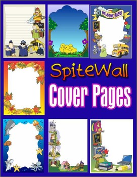 Cover Page Frames, Assorted Ready Made Cover Pages