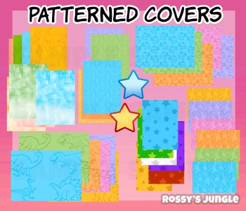 Assorted patterns and covers
