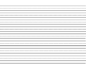 Assortment of Primary Handwriting Sheets