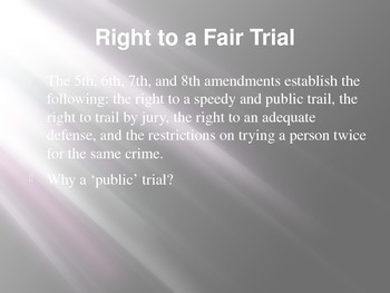 Assuring Individual Rights and Due Process
