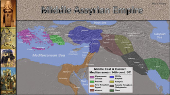 Mesopotamia: Assyria Iron-Age Empire
