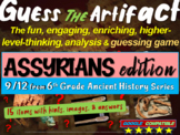 "Assyrians and Neo-Assyrians ""Guess the artifact"" game: PPT w pictures & clues"