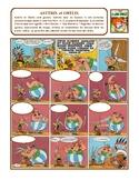 Astérix, bande dessinée, authentic reading, creative writi