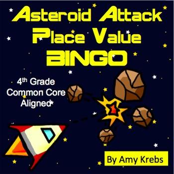 Place Value Bingo - Asteroid Attack