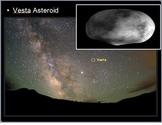 Asteroid Belt, Meteors, Meteorites Lesson