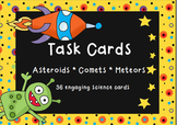 Asteroid, Comet, Meteor Task Cards-36 Engaging Space Science Cards