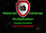 Asteroid Defense Multiplication  Demo Version