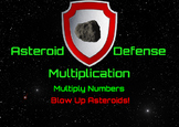Asteroid Defense Multiplication  Demo Version