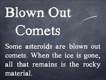 Asteroid Facts PowerPoint