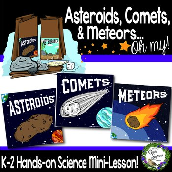 Solar System Hands On Activity for Asteroids Meteors Meteorites and Comets