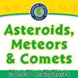 Asteroids, Meteors & Comets - PC Gr. 5-8
