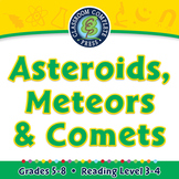 Asteroids, Meteors & Comets - PC Gr. 5-8