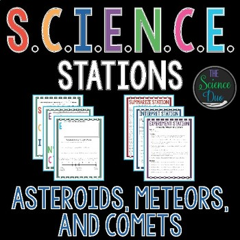 Asteroids, Meteors, and Comets - S.C.I.E.N.C.E. Stations