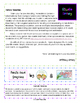 Asteroids and Comets Reading Comprehension and Writing Prompt