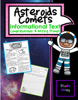 Asteroids Facts Worksheets & Teaching Resources | TpT