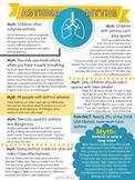 Asthma Myths Printable Poster