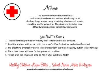 Asthma Health Information Card JPG