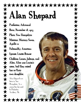 Astronaut Alan Shepard