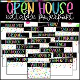 Astrobright Confetti Theme Back to School / Open House Pre