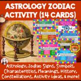 Astrology Zodiac Activity Cards