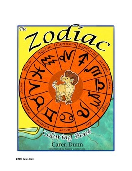 Astrology for Kids Coloring Book: Zodiac Suns