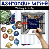 Astronaut ABC Writing / Letter Match Activity