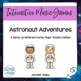 Astronaut Adventures: Interactive Tonal Pattern Game