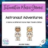 Astronaut Adventures: Interactive Tonal Pattern Game