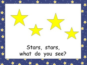 Astronaut, Astronaut, What Do You See Shared Reading for Kindergarten- Space