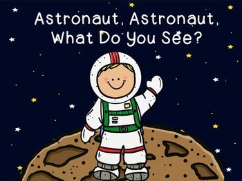 Astronaut, Astronaut What Do You See? (booklet/visuals)
