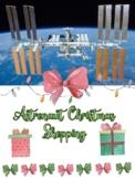 Astronaut Christmas Shopping