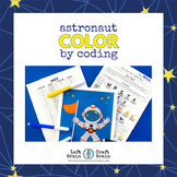 Astronaut Color by Coding