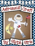 Astronaut Craft with Writing Option