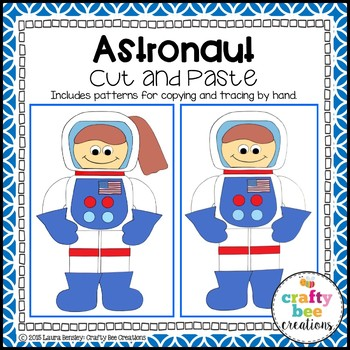 Astronaut Cut and Paste