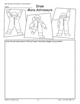Astronaut (Draw Then Write)