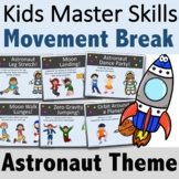 Astronaut Brain Breaks for Distance Learning (PDF, Google