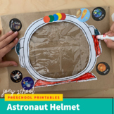 Astronaut Helmet, Art, Outerspace, Science, Dramatic Play,